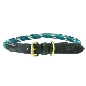 WeatherBeeta Rope Leder-Hundehalsband