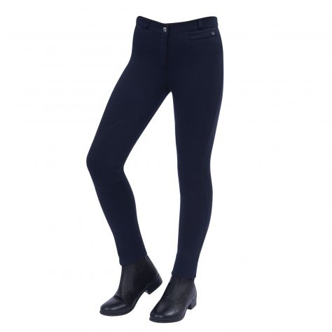 Dublin Supa-Fit Zip Up Knee Patch Jodhpurs