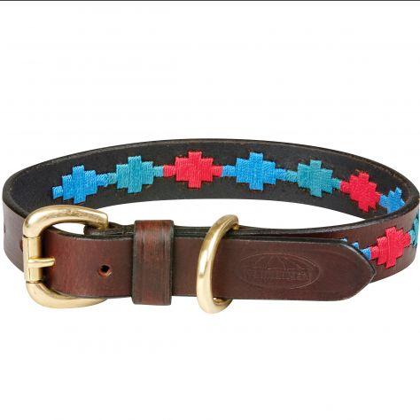WeatherBeeta Polo Leder-Hundehalsband