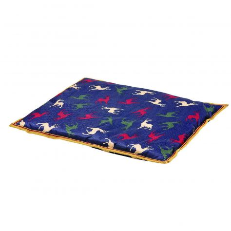 WeatherBeeta Patterned Pillow Dog Bed