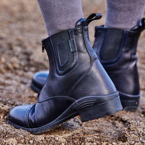 Dublin Evolution Zip Front Waterproof Paddock Boots