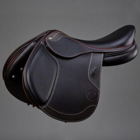 Enzo Treviso Maria Deep Seat Two Toned Close Contact Jump Saddle