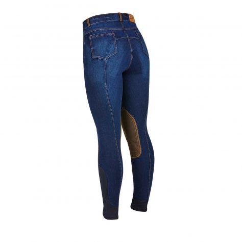 Dublin Shona Kniebesatz Jeans Reithose