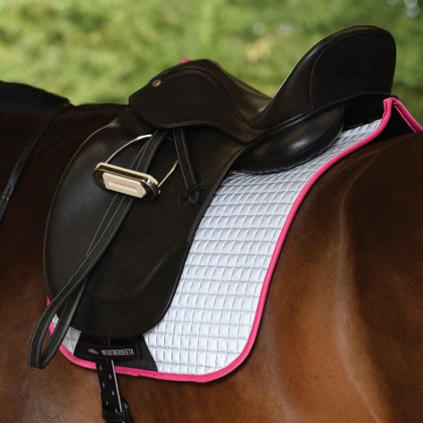 WeatherBeeta Reflective Prime Dressage Saddle Pad