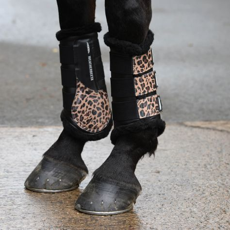 WeatherBeeta Leopard Brushing Boots