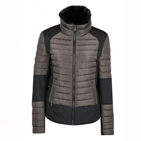 Dublin Black Maya Puffer Jacket