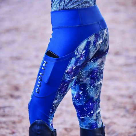 Dublin Gabriella Printed Sculpt Tech Tights