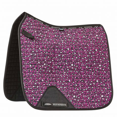 WeatherBeeta Prime Leopard Dressage Saddle Pad