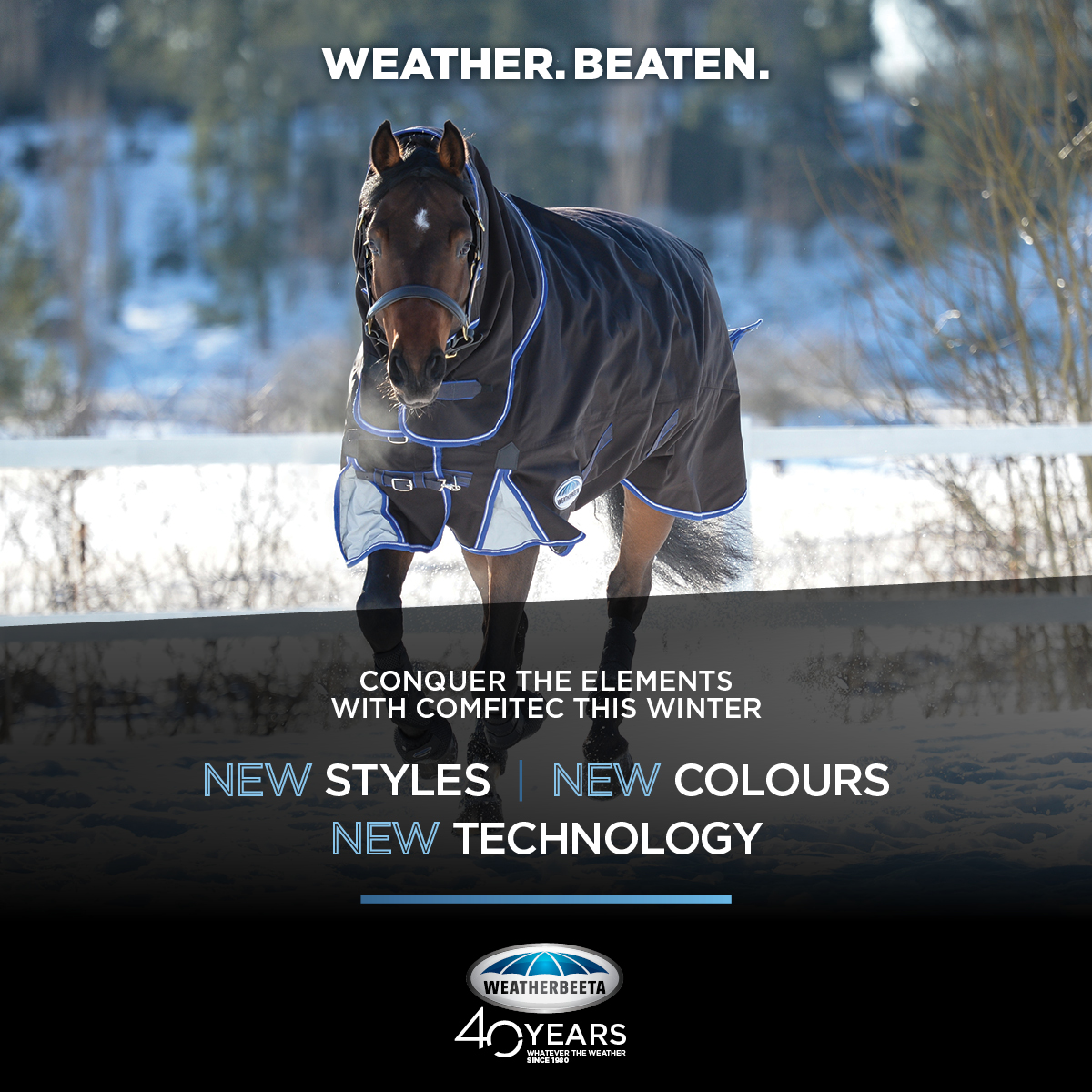Weatherbeeta Winter Rug Range