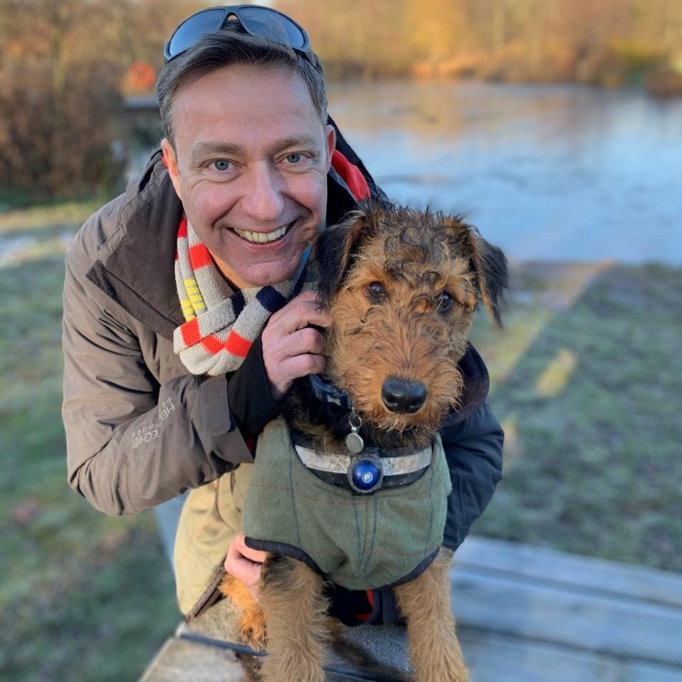 Muddy Hell! I love Arthur's dog coat & here's why...