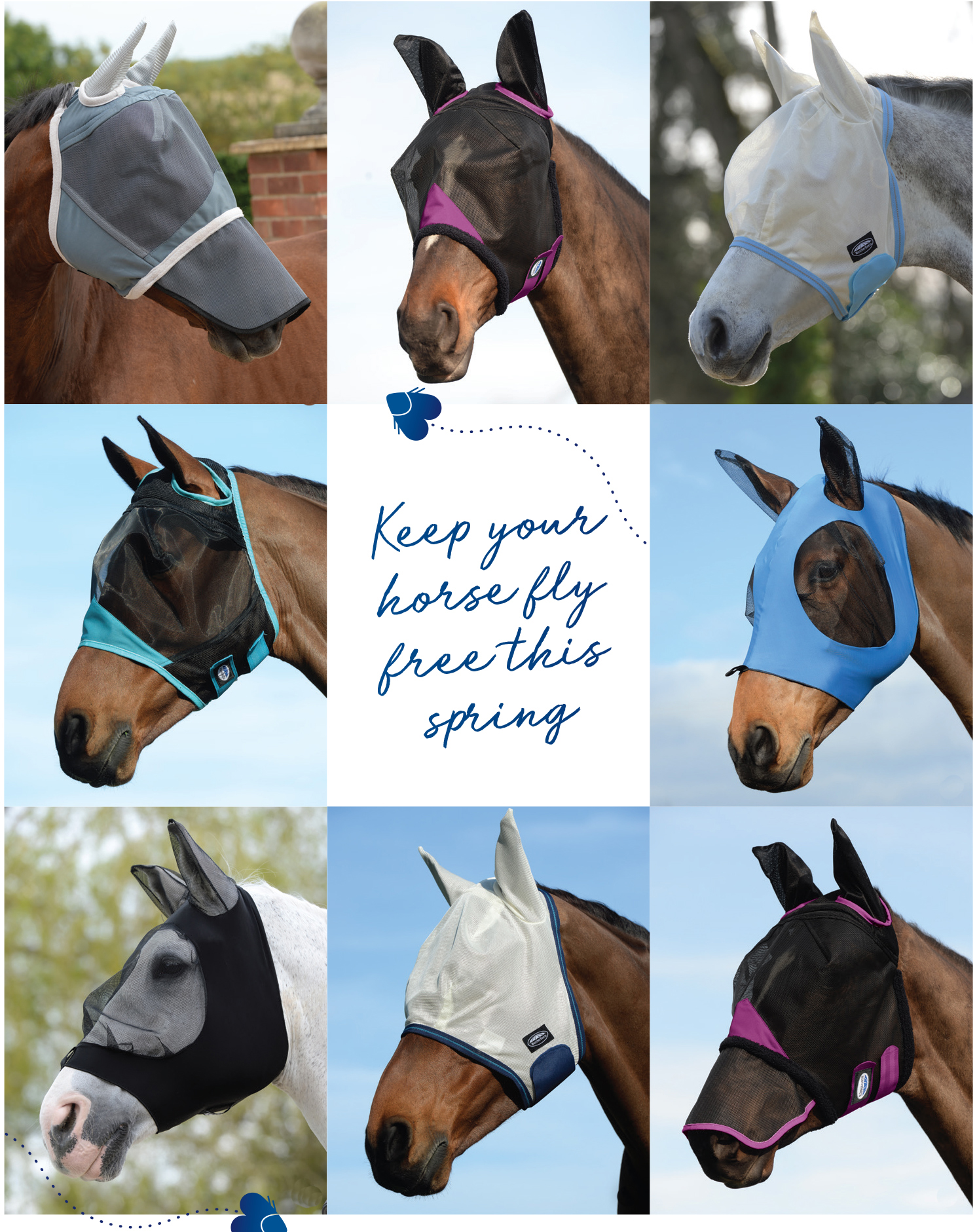 WeatherBeeta Fly Masks