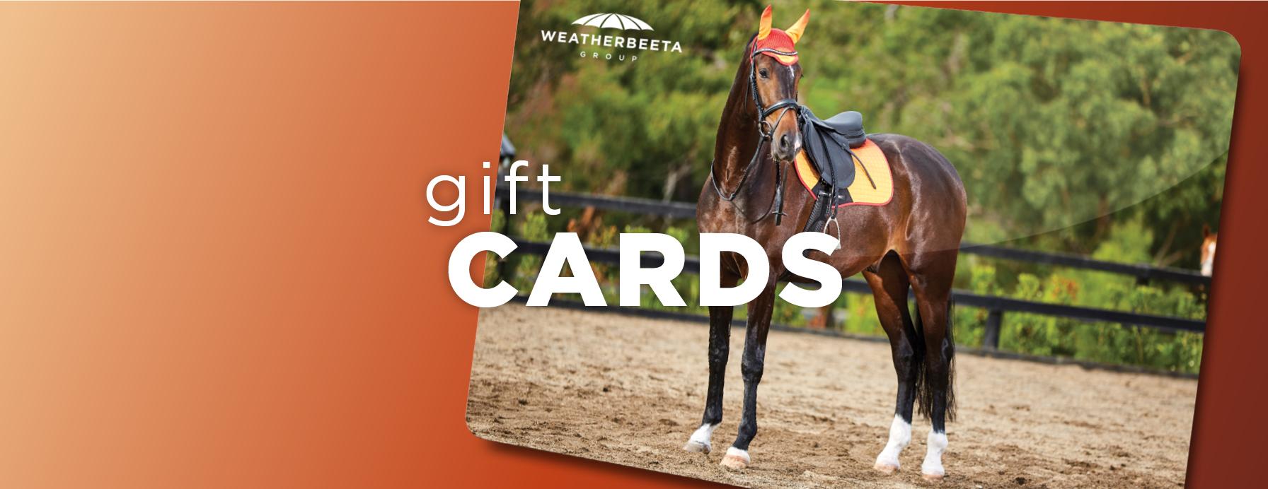 weatherbeeta gift cards