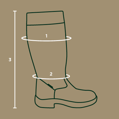 dublin country boots size guide