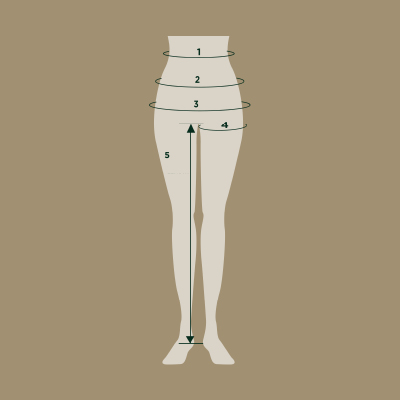 dublin legwear size guide