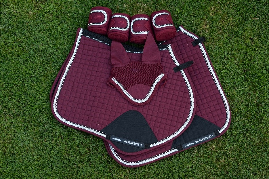 Weatherbeeta Prime OMBRE Dressage Saddle Pad Cloth Matchy Matchy