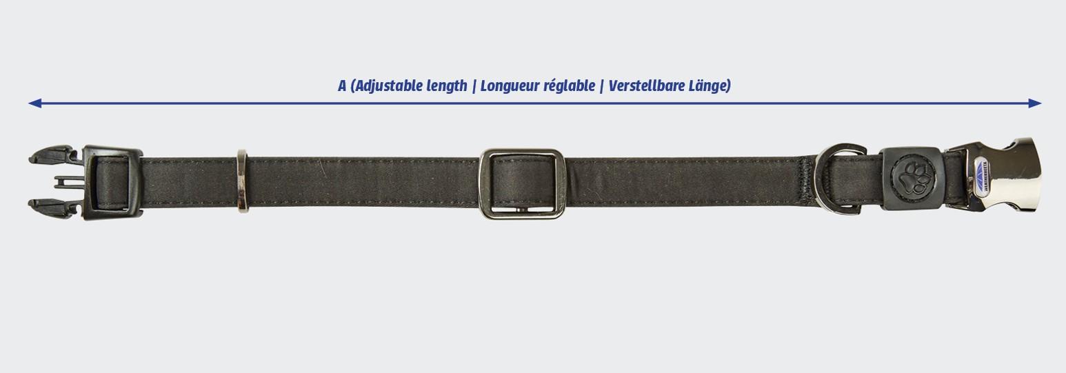 weatherbeeta elegance dog collar size guide