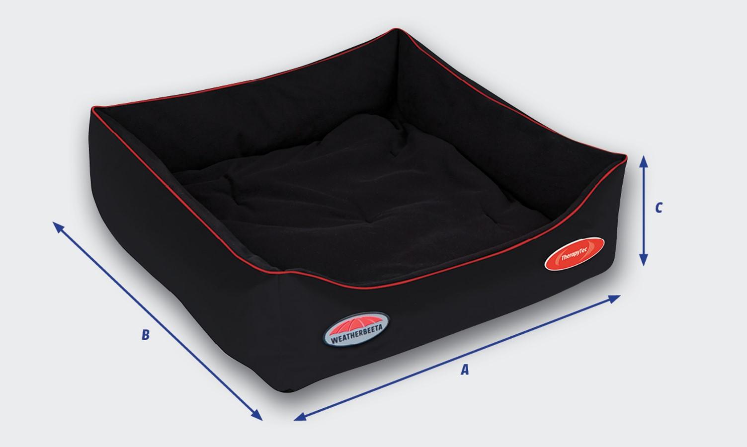 weatherbeeta therapy tec dog bed