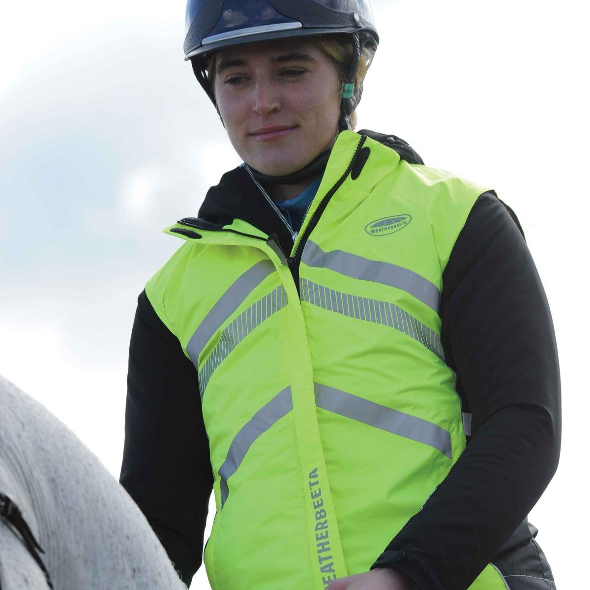 weatherbeeta reflective waterproof vest